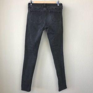 Uniqlo UJ Black High Waist Stretch Skinny Jeans